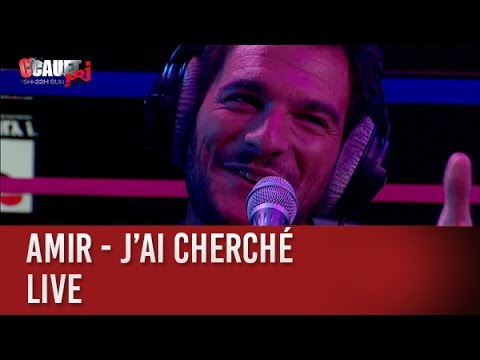 Amir - J'ai cherché - live - C'Cauet sur NRJ