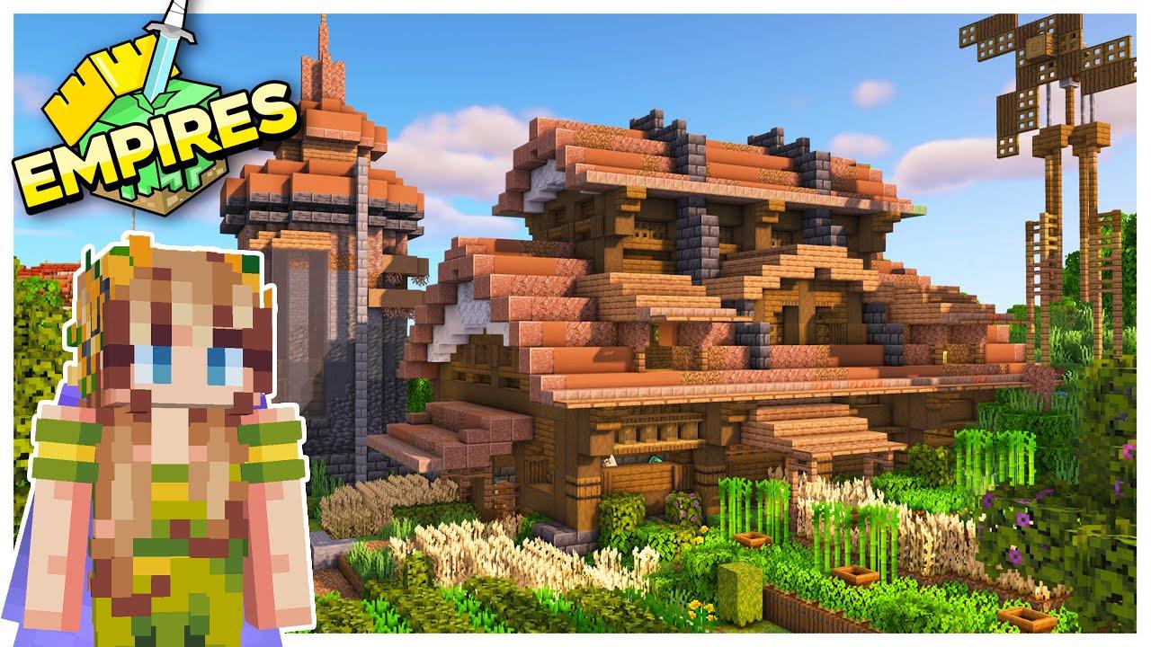 EmpiresSMP: Barn Raising, Pranks and Plans! -Episode 5