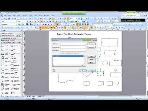 System flow chartshipo and stds along with ms visio youtube system flow chartshipo and stds along with ms visio ccuart Gallery