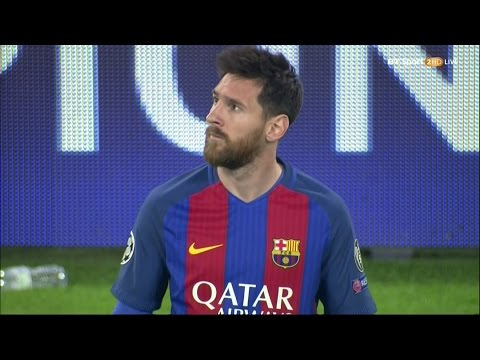 Lionel Messi vs Juventus (Away) 16-17 HD 1080i - English Commentary