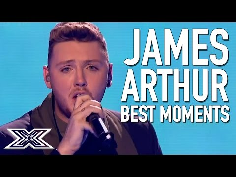 BEST of X Factor Winner James Arthur | Including Impossible Live Final performance
