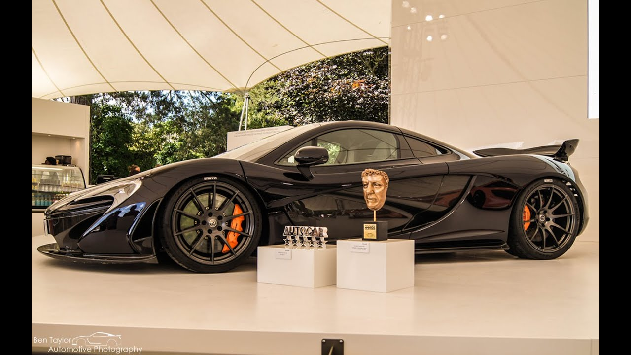 Top Gear Road Tested Mclaren P1 With Eurofighter Typhoon Fly Pass At Goodwood Festival Of Speed 2014
