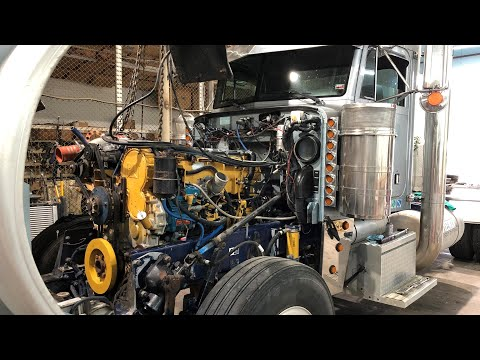 800 HP Marine Camshaft Swap - 14.6L Caterpillar 6NZ C-15 Diesel Engine - Peterbilt 379 EXHD