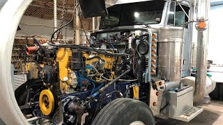 800 HP Marine Camshaft Swap - 14.6L Caterpillar 6NZ C-15 Diesel Engine - Peterbilt 379 EXHD