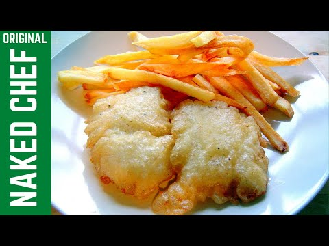 Fish chips crispy batter with fizzy water recipe how to for How to make batter for fish