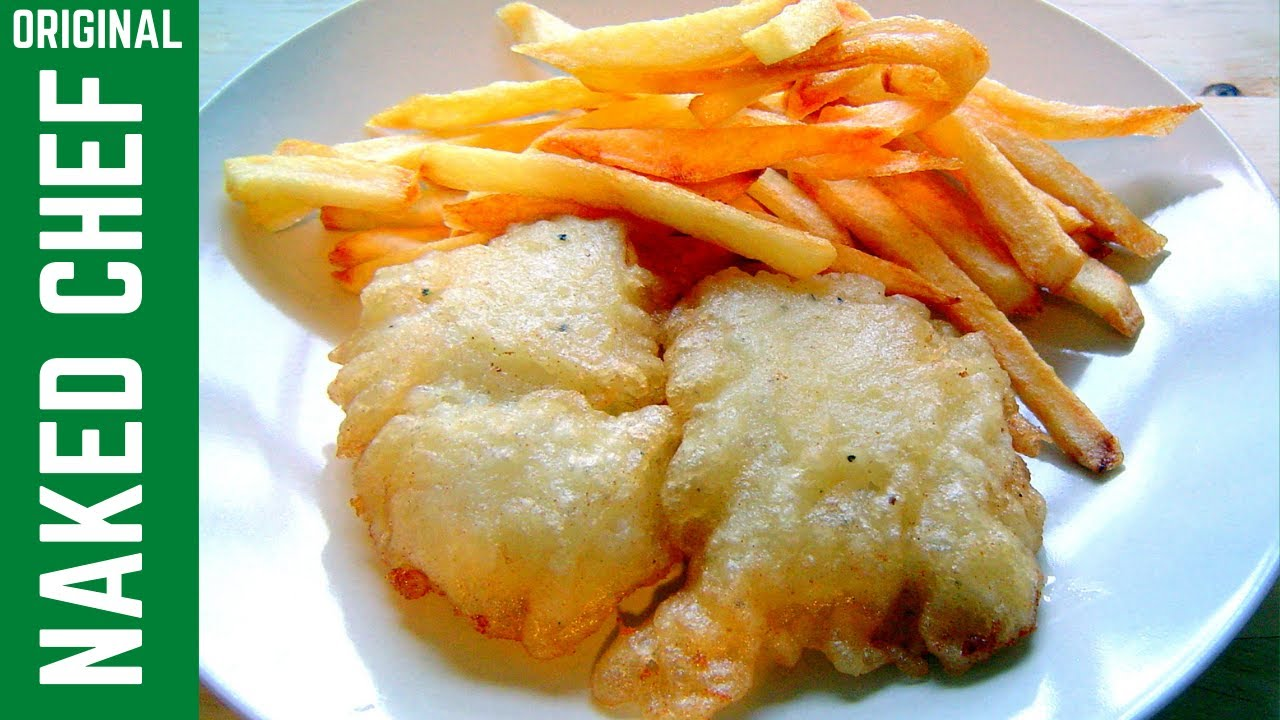 Fish chips crispy batter with fizzy water how to make for Fish and chips batter recipe