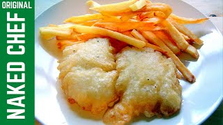 Fish & Chips Crispy Batter with Fizzy Water recipe How to make cook