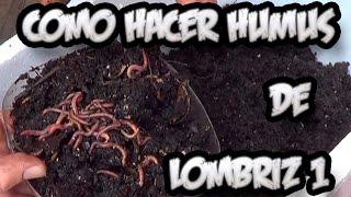 Como Hacer Humus De Lombriz #1 || Abono Organico || La Huertina De Toni thumbnail