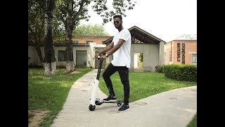 FlowDot X: The 1st Self-Balance Foldable E-Scooter