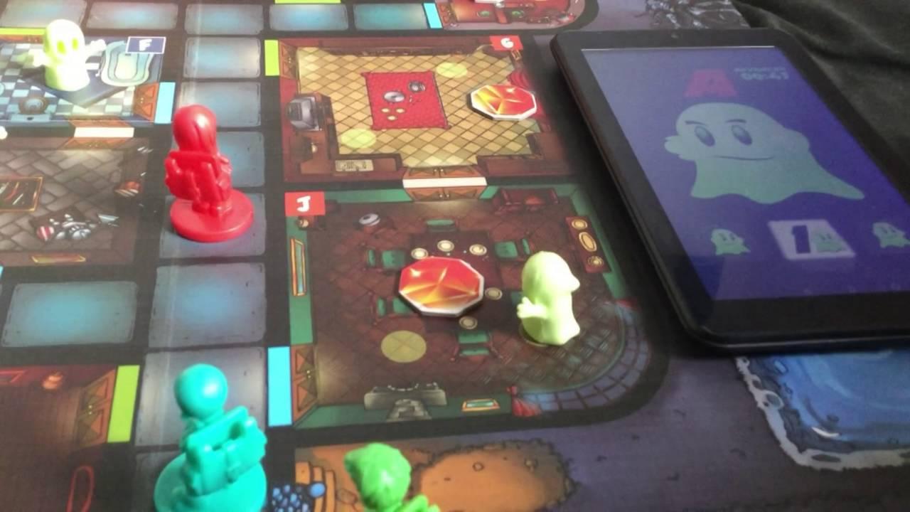 Geister Fighting Treasure Hunters - Gameplay Board Game App
