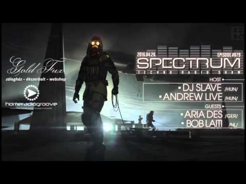Spectrum Techno Radio Show from Hungary (Guest mix Aria Des)