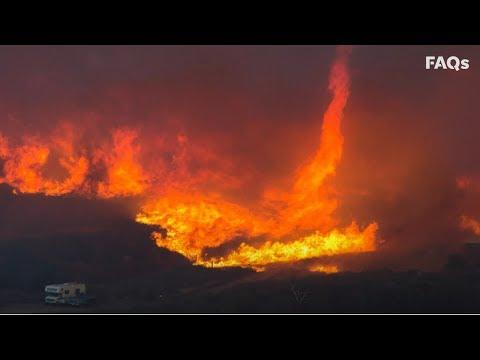 Firenado: Flaming vortex of destruction