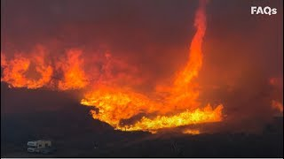 Firenado: Flaming vortex of destruction