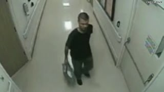 Chilling video: Baby smuggled out of hospital in bag