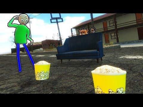 SETTING A TRAP FOR BALDI! - Garrys Mod Gameplay (Gmod Roleplay) - Zombie Survival & Base Building