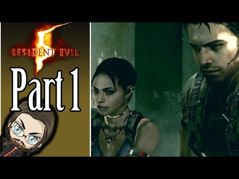 Beef McBuff! - Resident Evil 5 Co-op Gameplay - Part 1 - Let's Play Walkthrough