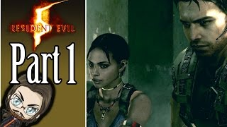 Beef McBuff! - Resident Evil 5 Co-op Gameplay - Part 1 - Let