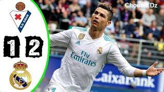 Eibar vs Real Madrid 1 - 2  - La Liga 10/03/2018 HD