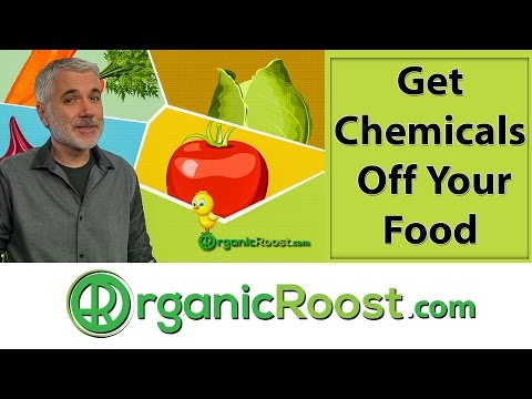 How to Wash Off and Remove Surface Chemicals From Produce Vegetables and Fruit