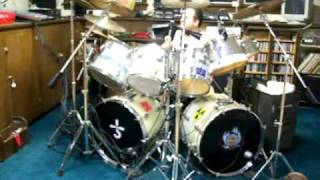 All Fired Up- Pat Benatar- drum cover