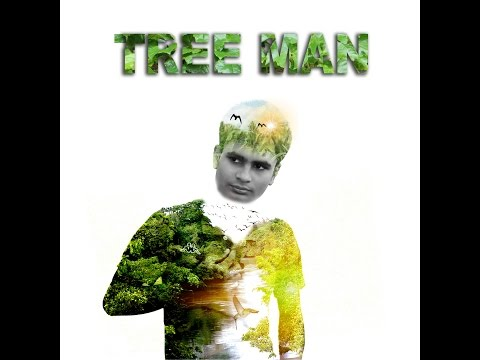 TREE MAN Double exposure effect photoshop tutorial