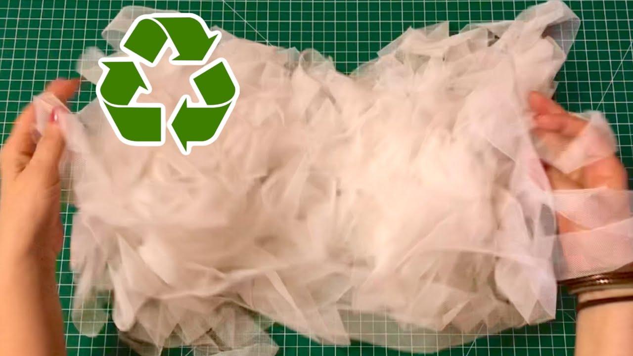 TÜL PARÇALARIYLA ÇOK KULLANIŞLI GERİ DÖNÜŞÜM #リサイクル #reciclar #recycle