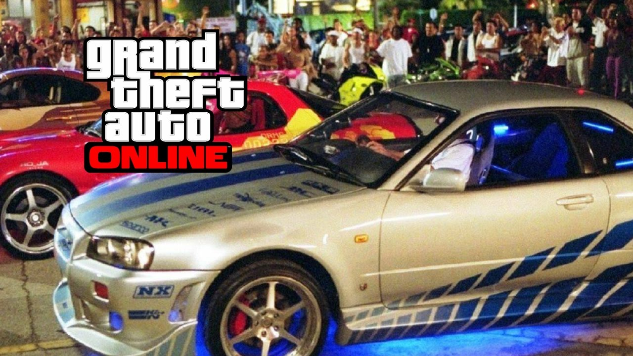 Gta 5 online full custom retro elegy.Nissan skyline.fast and furious ...
