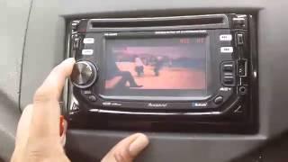 CAR DVD PLAYER DETACHABLE + BLUETOOTH + TOUCGSCREEN + 2 DIN