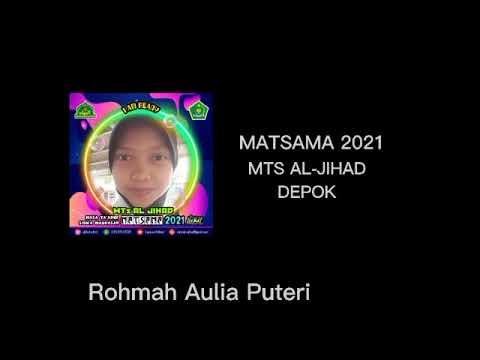 Kreativitas Peserta Matsama MTs Al-Jihad 2021 - Rohmah Aulia Putri
