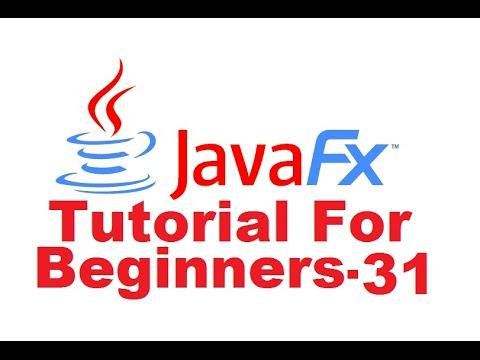 JavaFx Tutorial For Beginners 31 - Creating Media Player in JavaFX