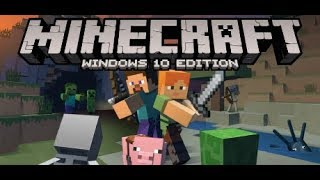 [HINDI] Minecraft Windows 10 Edition (P-18) {men dhak-dhak ka chehera} [NEW BASE]