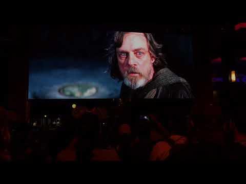 Live Star Wars: The Last Jedi Trailer at Downtown Disney