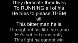Metallica The Unforgiven Lyrics