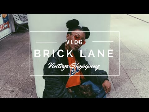 London Vlog- Brick Lane, Vintage Market, Old Spitalfields Market
