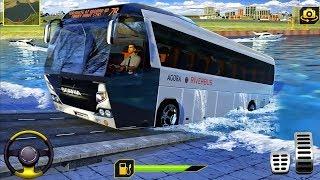 River Bus Driving Tourist Bus Simulator 2018 - Best Android Gameplay screenshot 3