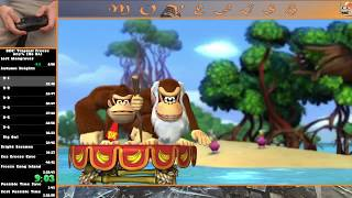 Funky Mode Any% No DA in 1:22:23 [Donkey Kong Country: Tropical Freeze]