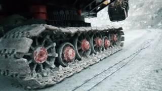 Передвижение экскаватора экг-10