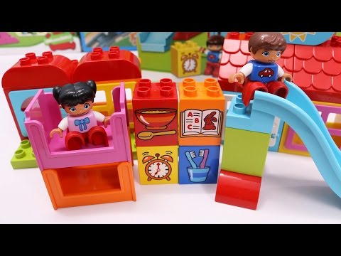 Building Blocks Toys for Children Lego Playhouse Kids Day Creative Fun