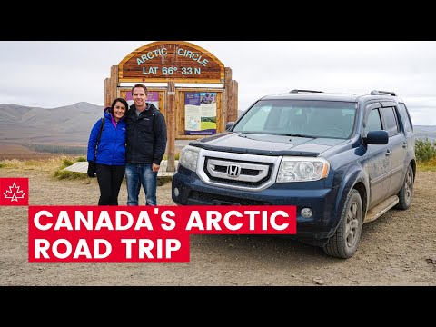 Exploring Canada's ARCTIC! The Best Things To Do In Inuvik!
