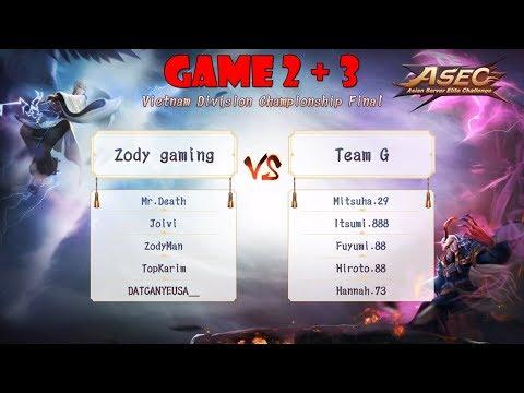 [Giải ASEC Onmyoji Arena 2018] ZODY vs Team G : Team nào sẽ đại diện cho Việt Nam đây anh em ơi ???