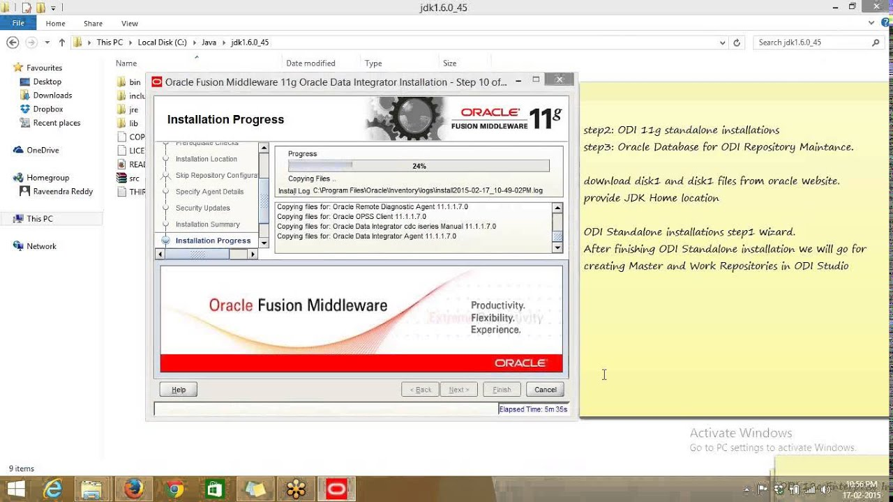 Oracle data integrator 11g 11 1 1 7 standalone installation on oracle data integrator 11g 11 1 1 7 standalone installation on windows 8 baditri Gallery