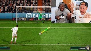 PENALTIS DEL INFIERNO EN FIFA 18 !!!