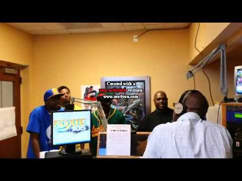 LaFayette Beatz with Lock Boys Interview at Foxy 105 Radio Station in Columbus, GA.