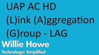 (Link Aggregation Group)UniFi UAP AC HD GECİKME