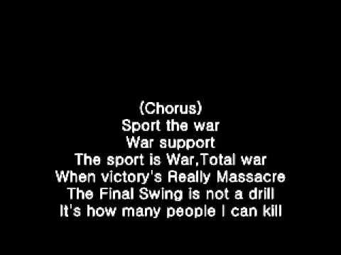 Slayer - War Ensemble With lyrics mp3