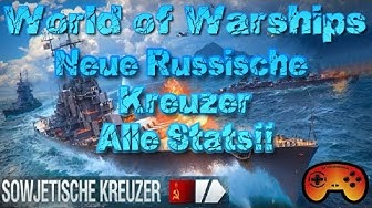 "Tallin, Riga & mehr! ""ALLE STATS"" in World of Warships auf Deutsch/German"