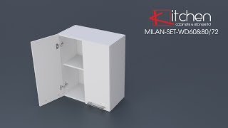 [MILAN-SET] Assembly Video for 600mm& 800mm Wall Cabinets