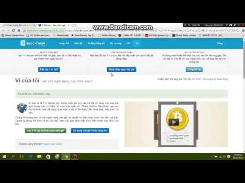Hướng dẫn mở ví tài khoảng Bitcoin