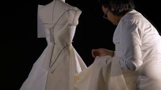How was it made? Constructing Balenciaga's historically inspired evening dress