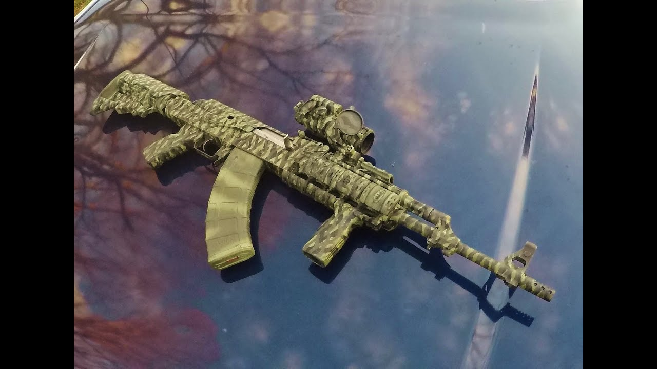 Skill Training With The AK Pattern Rifle